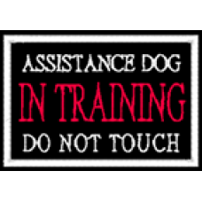 Assistance Dog In-Training 2x3
